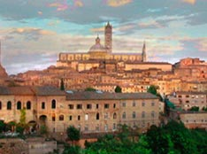Siena, a jewel of a few kilometers